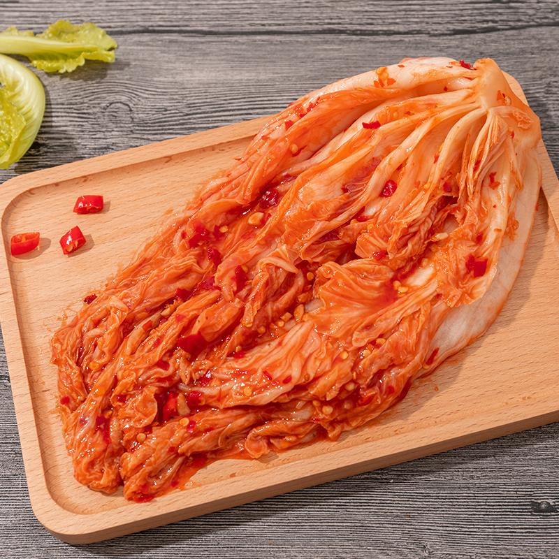 北极源辣白菜正宗韩国泡菜下饭菜朝鲜腌制泡菜韩式小咸菜辣2250克