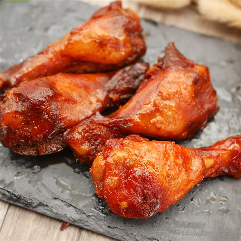 啃馋你鸡翅根小鸡腿10只小包装原味甜辣奥尔良42g*5袋装卤味零食
