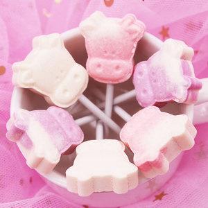 无蔗糖宝宝牛头奶棒糖创意可爱儿童牛奶片网红棒棒糖果年货零食