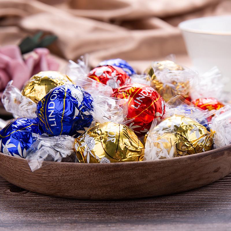 Lindt 瑞士莲 Lindor系列 混合装软心巧克力球 300g约23颗 天猫优惠券折后¥32.8包邮(¥42.8-10)