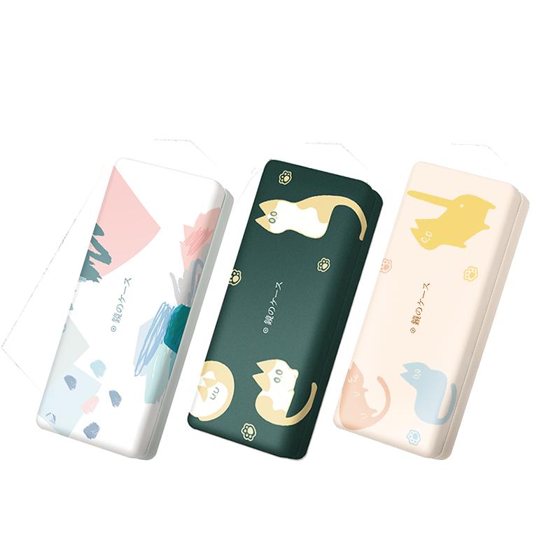 送女朋友少女心创意礼物什么适合,便携个性防压创意眼镜盒