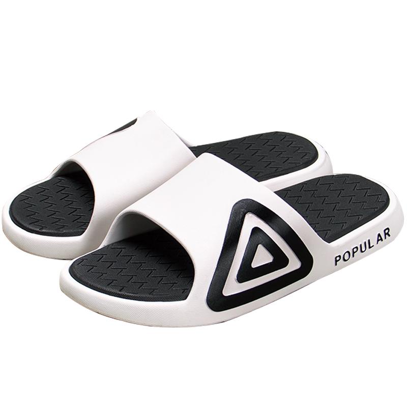 拖鞋男潮室外夏季家用时尚外穿韩版个姓防臭凉拖男士沙滩一字拖
