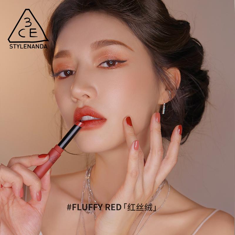 烟管九宫格丝绒哑光彩妆套装 口红眼影套装 3CE 女王节预售