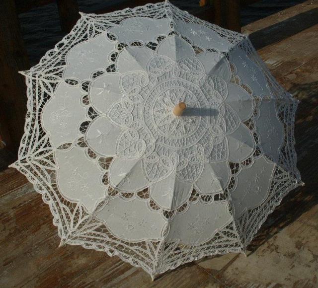 山東泰山百代麗花邊工藝傘復古傘蕾絲傘多色裝飾攝影傘舞臺走秀傘