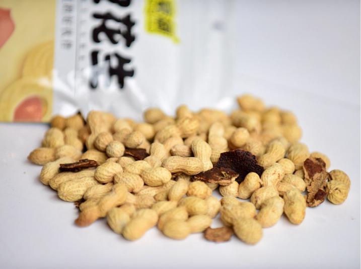 全國包郵 250g 新會陳皮花生享舔辦公室小吃零食香脆農家咸干花生