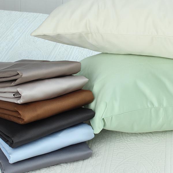 特價清倉 埃及純棉貢緞單人慢回彈枕套1200根支全棉記憶枕枕頭套