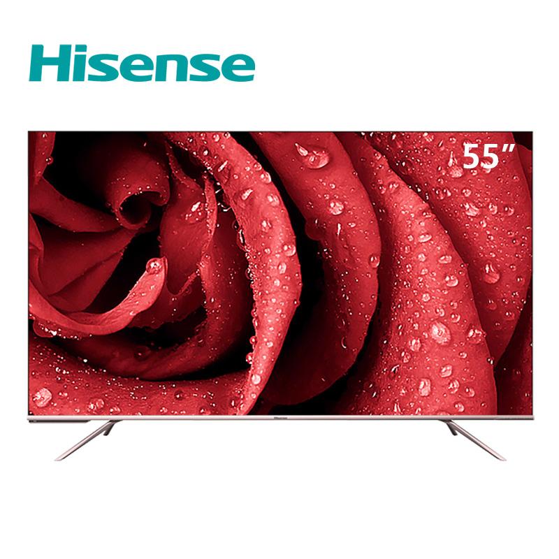 全面屏电视机 AI 高清智能平板液晶 4K 英寸 55 55E52D 海信 Hisense