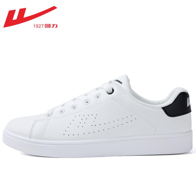 新款韩版潮流百搭休闲跑步运动鞋女板鞋子 2019 回力男鞋小白鞋秋季