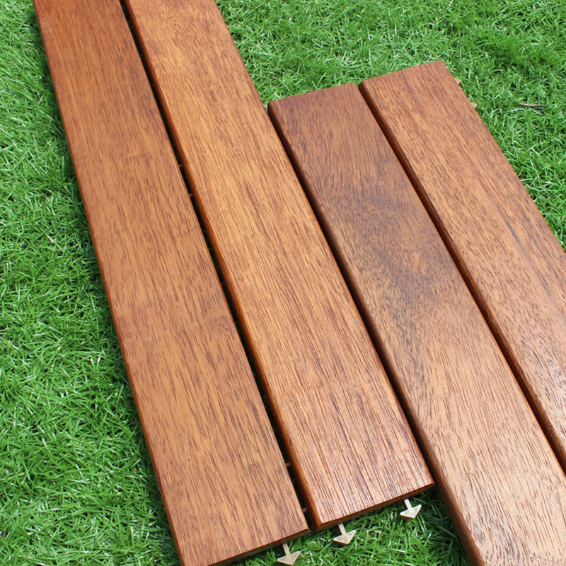 印茄木菠萝格60x17.5露阳台户外实木地板浴室别墅庭院防腐木地板