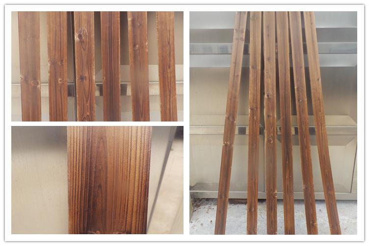 碳化木板防腐木户外装修墙板吊顶杉木条地板条栅栏木条广告