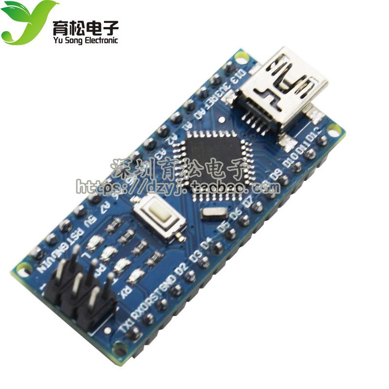 nano V3.0 ATMEGA328P CH340G改進板 送USB線  YS-10