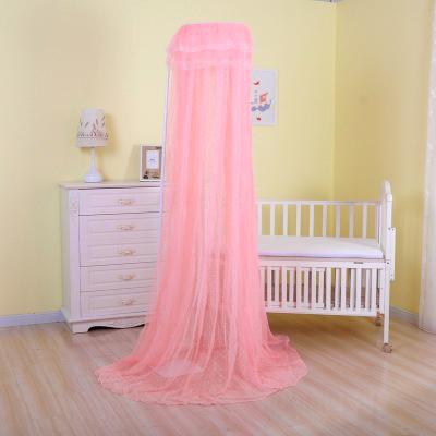 婴儿床蚊帐婴儿蚊帐带支架宝宝蚊帐儿童蚊帐落地夹床式童床蚊帐
