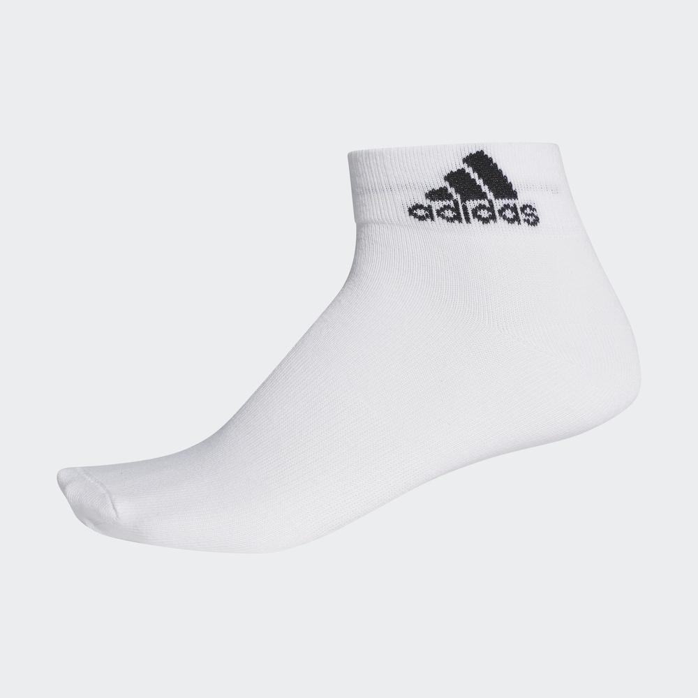 AA2323 白 短袜 男女 训练 阿迪达斯 adidas