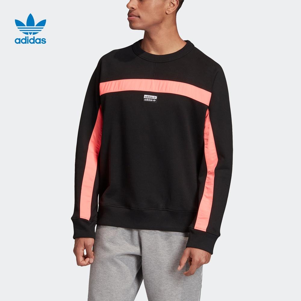 阿迪达斯官网 adidas 三叶草 FS CREW 男装运动卫衣FM2251