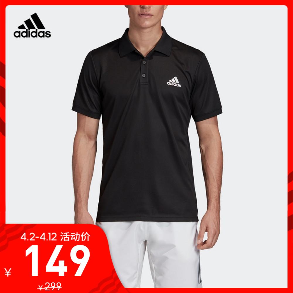 阿迪达斯官网adidas 男装网球运动POLO衫FK0743 FK0744 FM0228