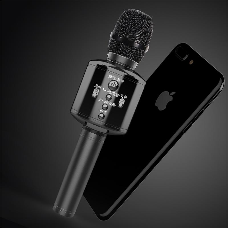 雅兰仕 全民K歌神器手机麦克风无线蓝牙家用唱歌儿童话筒自带音响一体电脑台式通用全能全名家庭扩音器套装