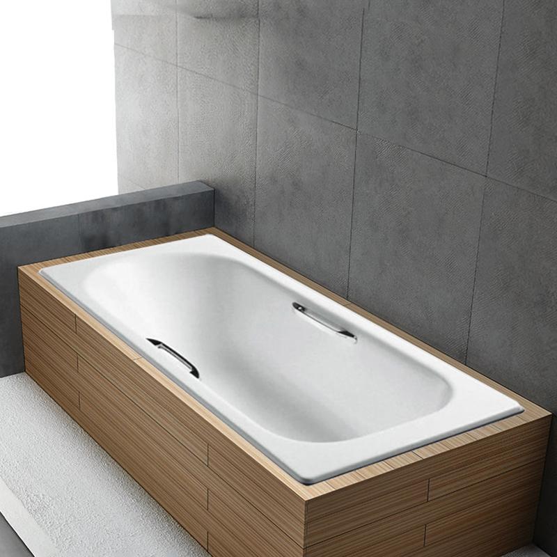 科勒索尚K-940T/941T/943T-GR/0嵌入式成人铸铁浴缸1.5m1.6m1.7m