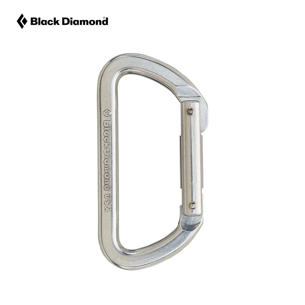 BlackDiamond BD黑钻户外登山D型铁锁防勾挂弯门锁直门锁