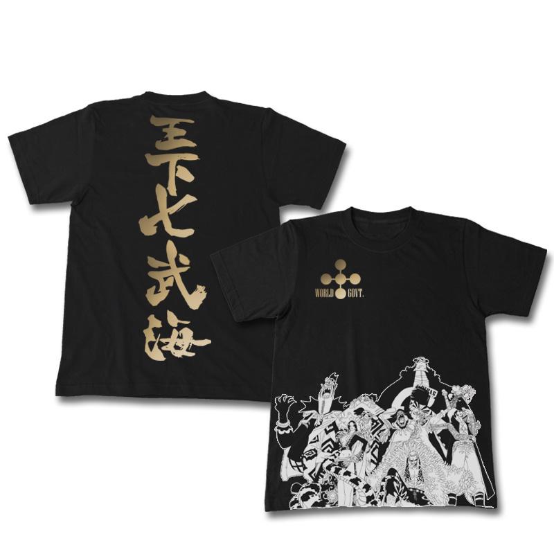 COSTAR日本原装正版动漫周边海贼王T恤王下七武海进口二次元短袖