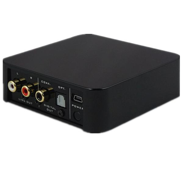 [送线材]天逸BTS-1无线音频适配器光纤同轴APTX无损蓝牙接收新款
