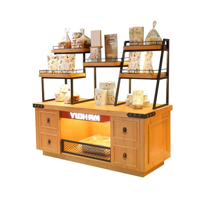 誉创面包柜面包展示柜面包架蛋糕店展示柜面包蛋糕店货架糕点柜