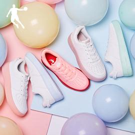 乔丹女鞋运动鞋2020夏季新款休闲鞋鞋子空军一号白色板鞋小白鞋女