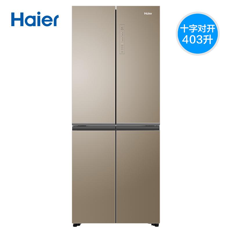 十字对开门静音节能家用电冰箱 403WDPT BCD 海尔 Haier