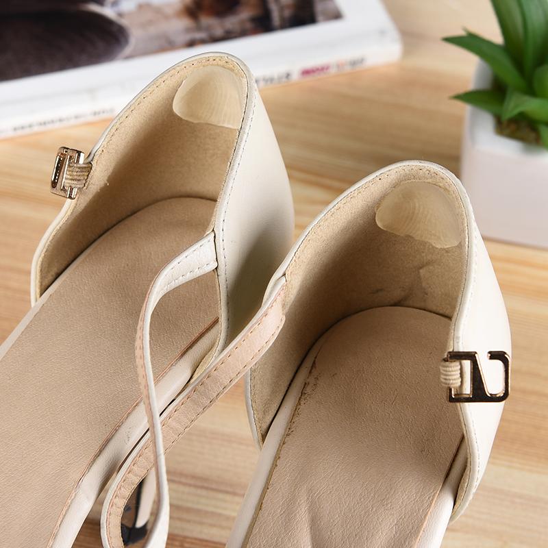硅胶隐形高跟鞋后跟贴透明防滑防磨脚鞋贴脚后跟贴鞋子后跟帖脚垫