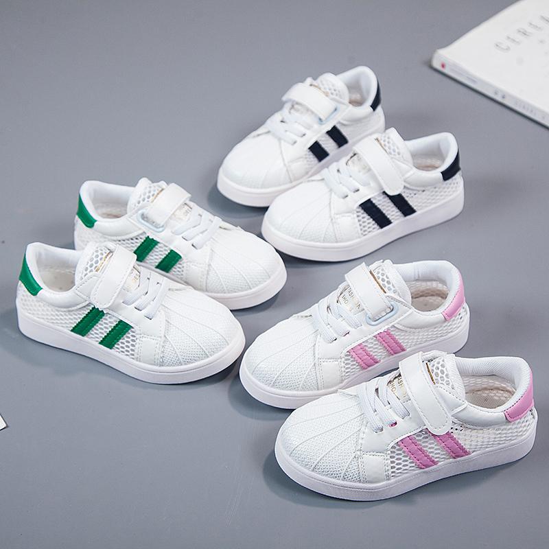 儿童透气运动网鞋单网镂空男女童宝宝鞋子春夏季休闲板鞋小白鞋潮