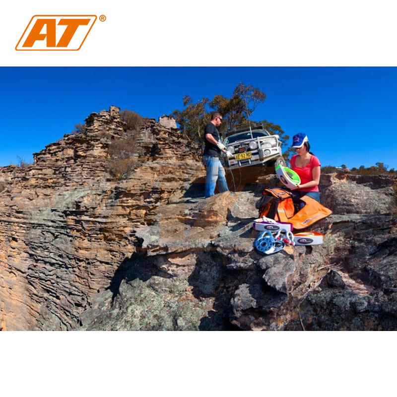 牵引绳 ARB 改装 AT 磅 12000 拖车绳牵引绳抱树带救援绳聚酯强度 ARB