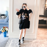 Pregnant women plus velvet sweater autumn and winter models 2020 winter clothing new hooded fashion long cartoon thick warm jacket