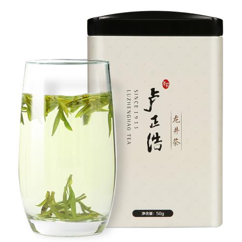 龙井新茶春茶正宗产区新茶上市 2018 卢正浩茶叶明前特级龙井茶绿茶