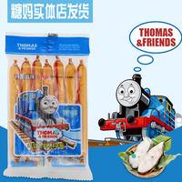 韩国进口托马斯鱼肠小火车105克智慧鳕鱼肠婴幼儿鱼肠7根 (¥16)