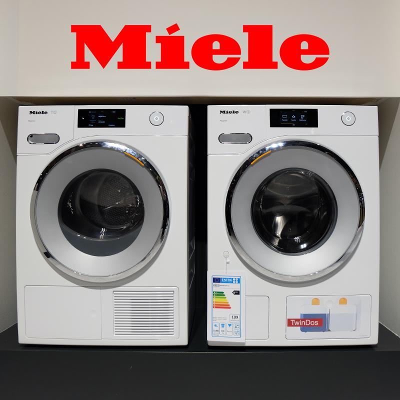 Miele/美諾 TWV680WP熱泵蜂巢滾筒乾衣機烘乾機9kg原裝進口旗艦款