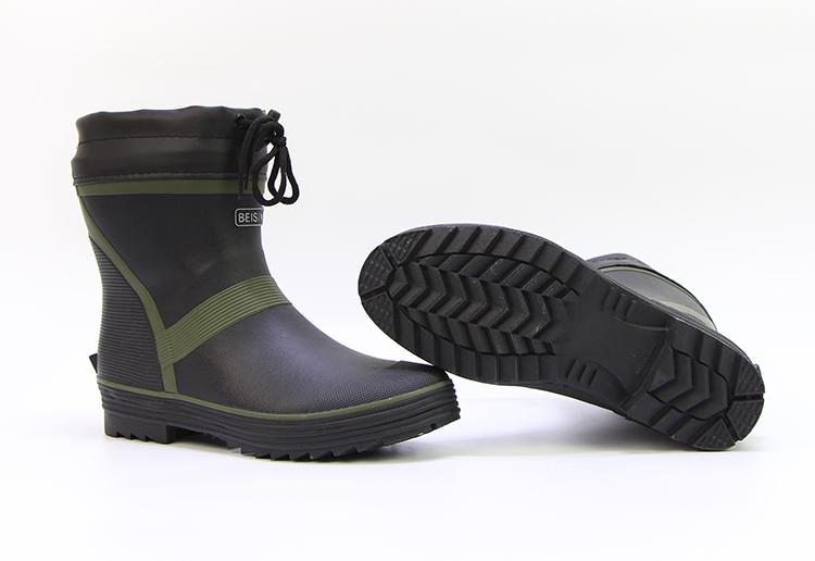 雨鞋男士低帮短筒钓鱼鞋水鞋套鞋雨靴韩版时尚防水鞋防滑