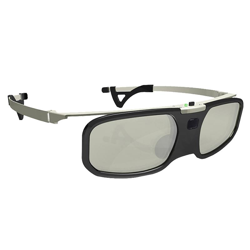 近视夹片主动快门式3D眼镜爱普生TW5400/5600索尼HW49/69投影仪等