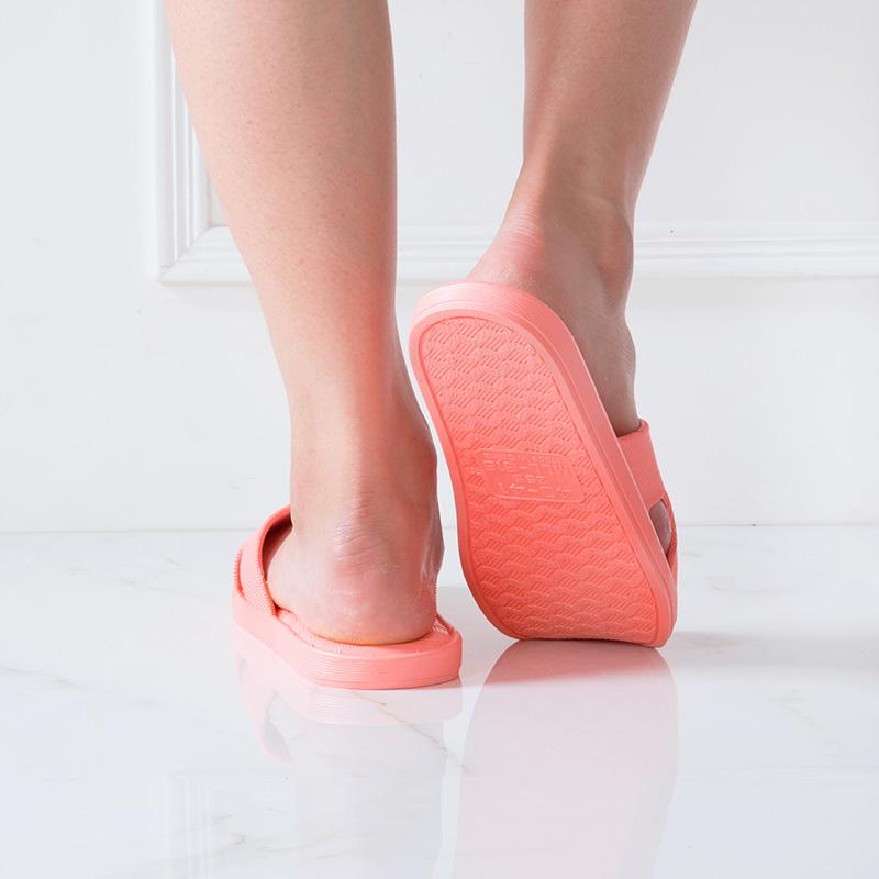 居家家 塑料软底凉拖鞋浴室防滑洗澡拖鞋 夏季室内家用情侣家居鞋