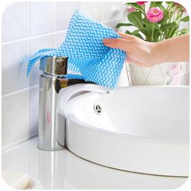 居家家无纺布免洗抹布清洁布厨房擦手巾刷碗布洗碗巾不沾油洗碗布
