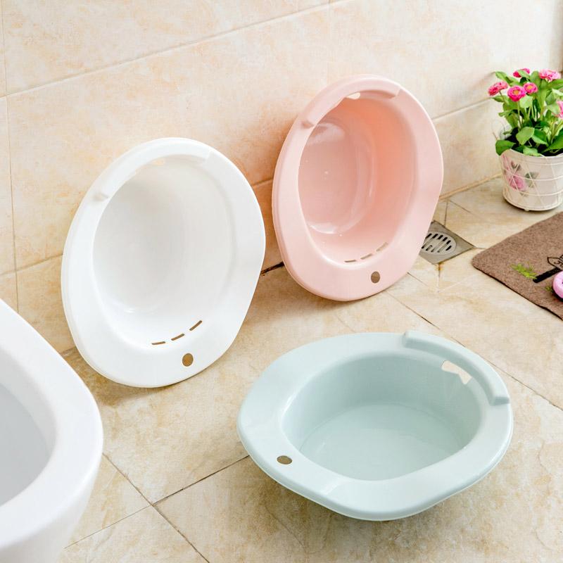 居家家 男女坐浴盆孕妇产后洗屁股坐盆 妇科孕产妇月子免蹲马桶器