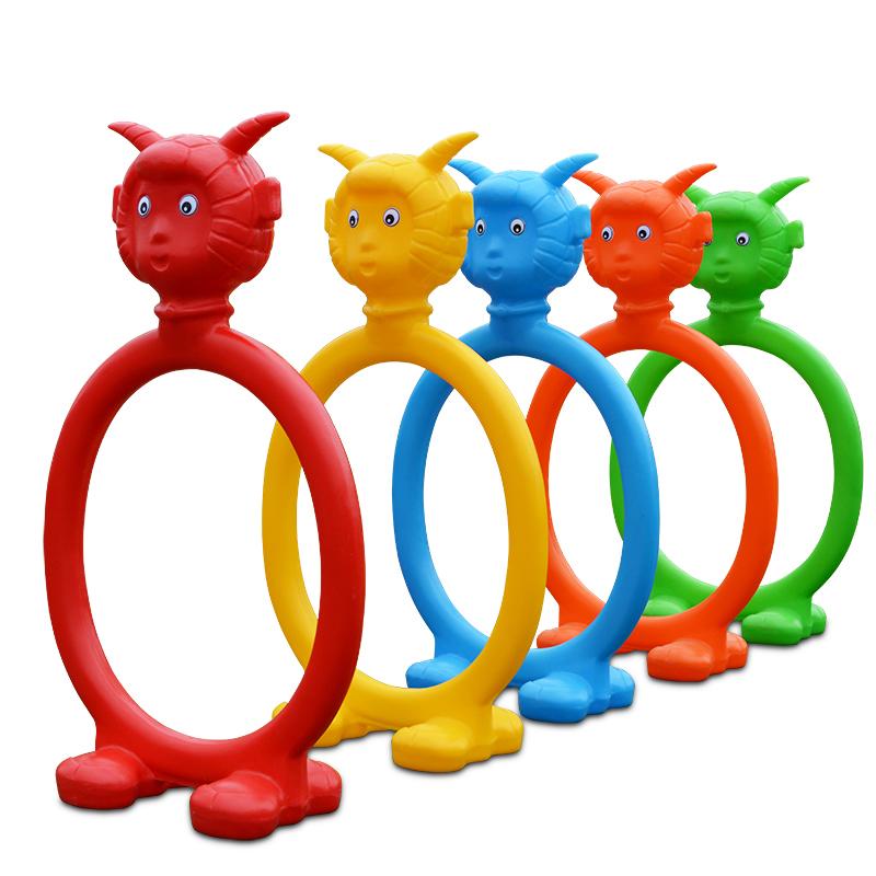 幼儿园塑料钻洞 爬行运动游戏儿童钻圈 室外户外体育器械运动玩具