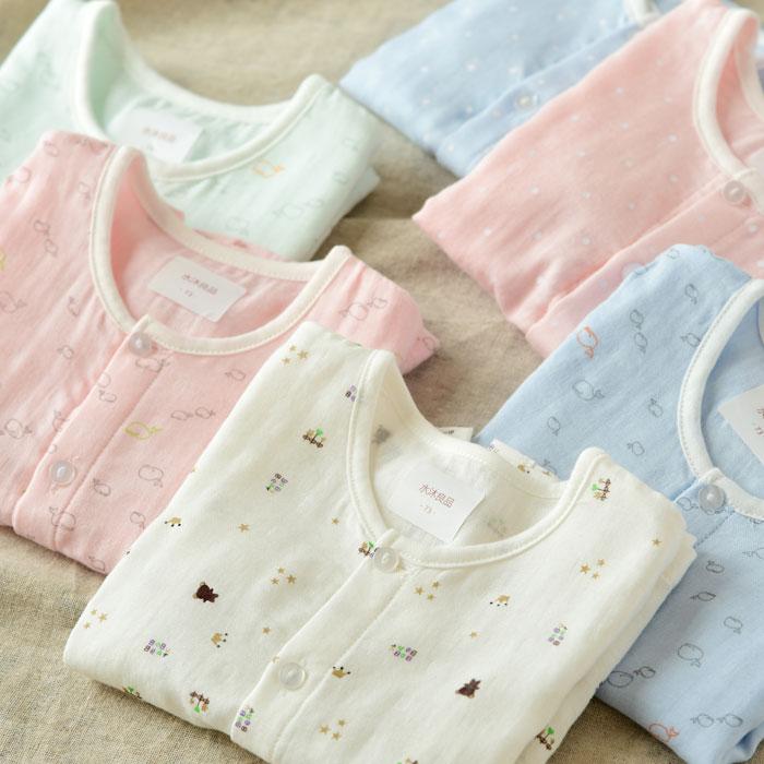 凉爽透气 薄款竹纤维小童短袖上衣 宝宝T恤 儿童夏装