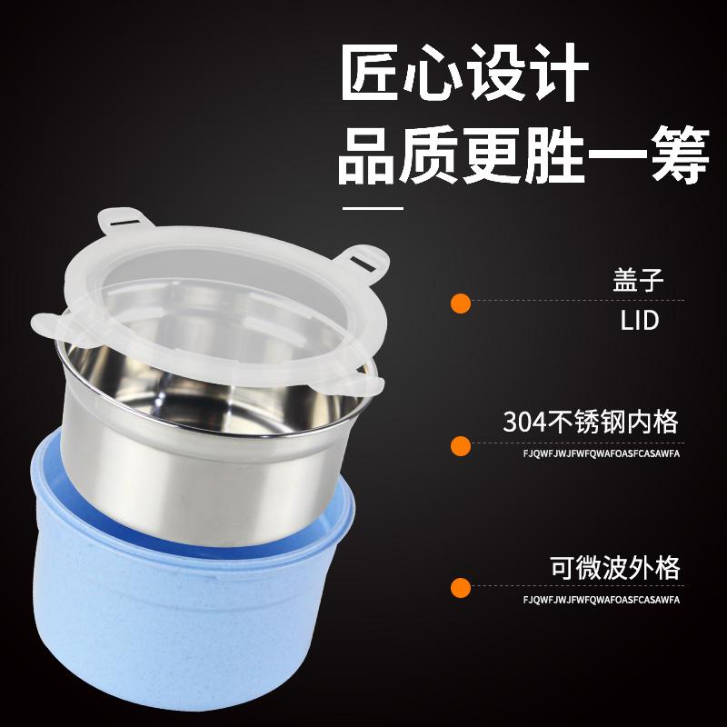 不锈钢自热饭盒食品加热包专用户外自煮饭盒生石灰火锅餐盒发热包