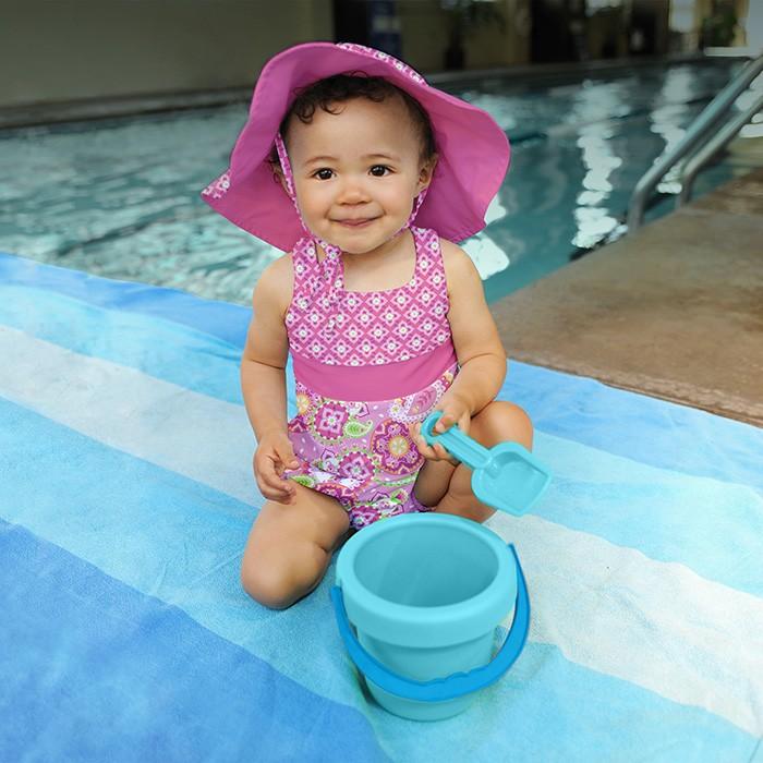 美国i play婴儿宝宝防晒分体连体泳衣泳裤套装 iplay防紫外线50+