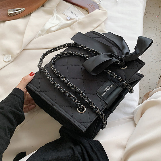 Linger Chain Bag Female Winter 2020 New Tide Fashion Wild INS Large Capacity Single Shoulders Under The Sloth