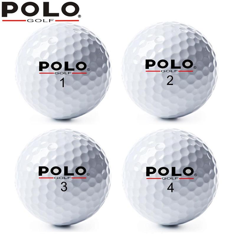 正品POLO golf雙層球 全新高爾夫球 比賽球  遠距離球 練習球促銷