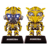 Genuine Hasbro Transformers Q version Bumblebee hand-held model robot Beetle car ornaments