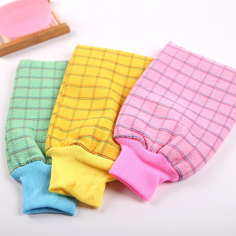 【拍一发三】双层双面粗砂洗澡搓澡巾去角质手套强力搓泥搓背包邮