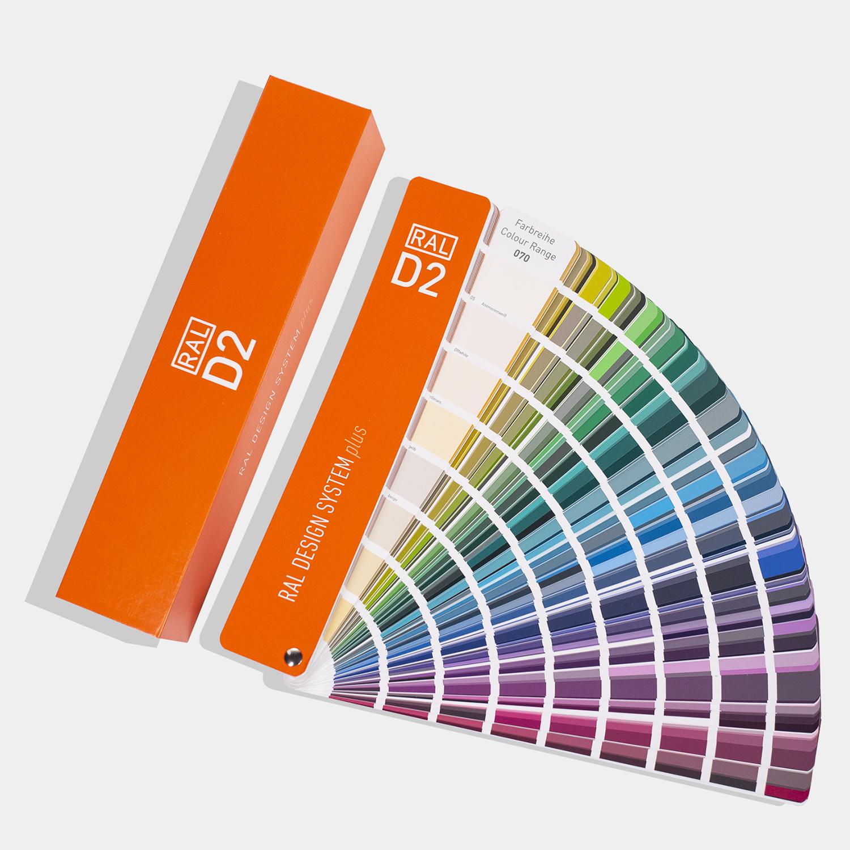 新版加色 RAL色卡 劳尔色卡 标准色标卡 RAL-D2设计师版新增200色