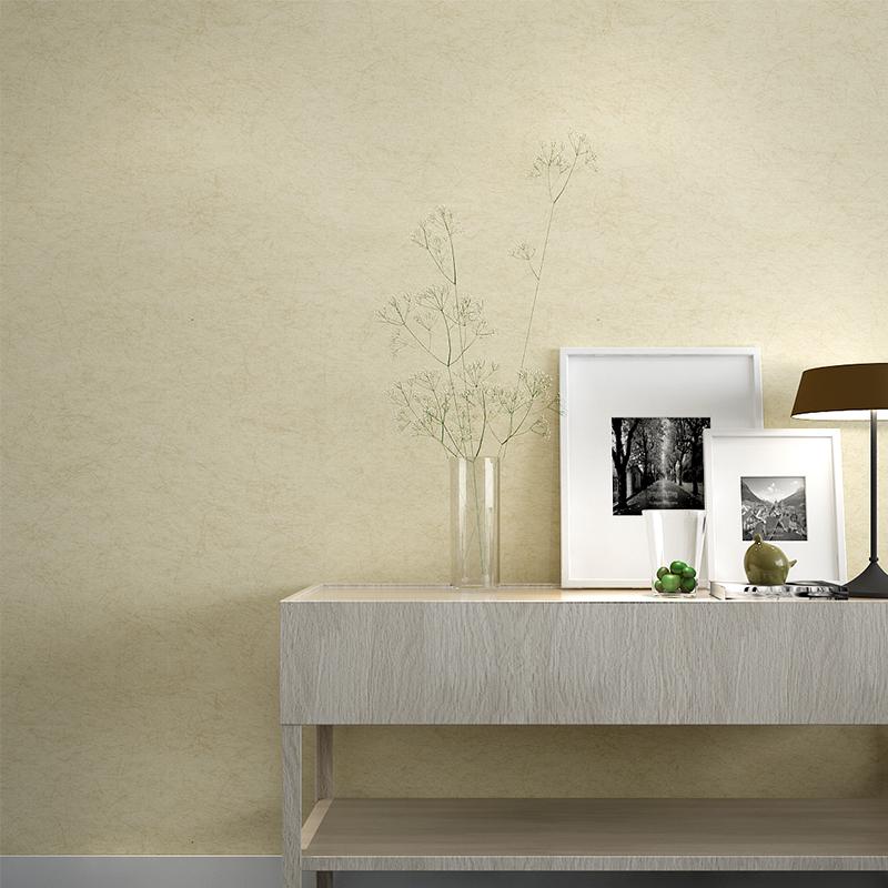 轻曼 纯色墙纸卧室简约现代客厅电视背景墙壁纸无纺布墙纸 米素