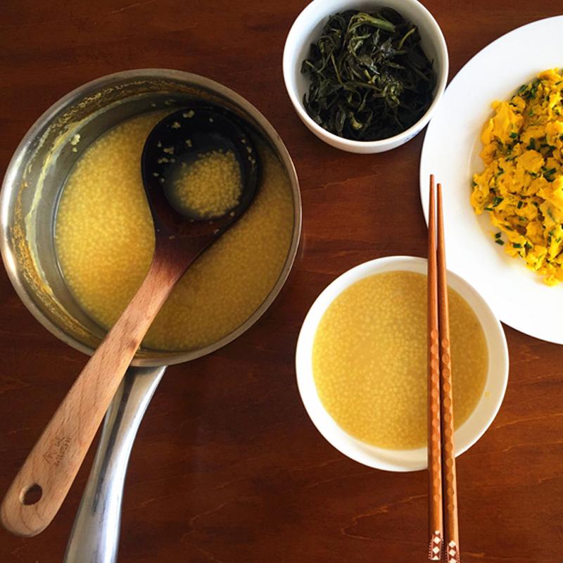 米脂小米2018新米黄小米农家自产陕北月子米陕西小黄米杂粮粥5斤